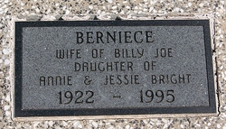 Berniece <I>Bright</I> Hissom