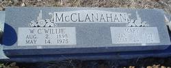 "Rev William Charles ""Willie"" McClanahan"
