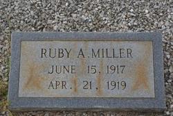 Ruby A. Miller