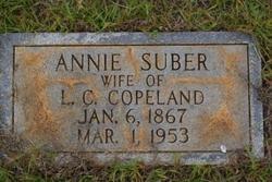 Annie <I>Suber</I> Copeland