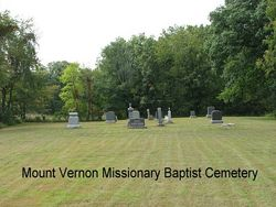 Mount Vernon Missionary Baptist Cemetery