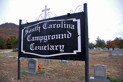 South Carolina Campground Cemetery