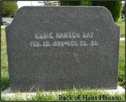 Elsie Irene <I>Hanson</I> Kay
