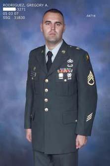 Sgt Gregory Allen Rodriguez
