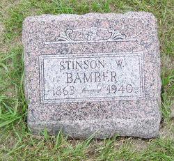 Stinson W. Bamber