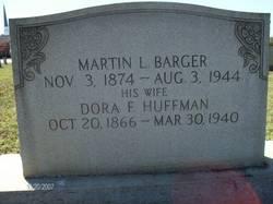 Dora F <I>Huffman</I> Barger