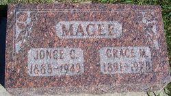 Grace May <I>Thayer</I> Magee