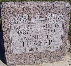 Agnes C <I>Houtwed</I> Thayer
