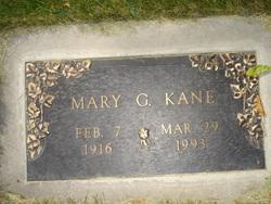 Mary G <I>Grosluck</I> Kane
