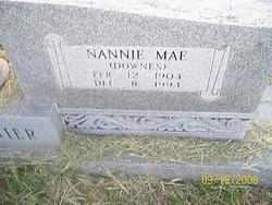 Nannie Mae <I>Downes</I> Barganier