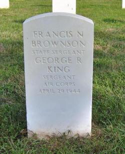 SGT George R King