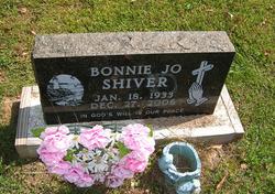 Bonnie Jo <I>Ropp</I> Shiver