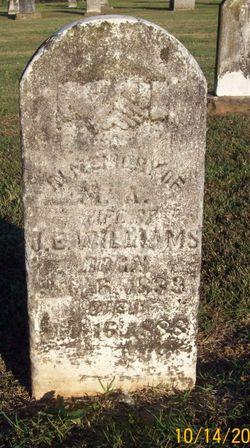 Martha <I>Hinds</I> Williams