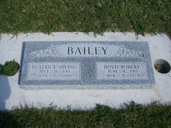 Beatrice Rebecca <I>Irving</I> Bailey