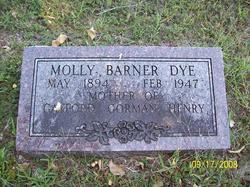 Mollie <I>Barner</I> Dye