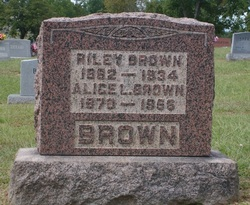 Alice Luverna <I>Dulin</I> Brown