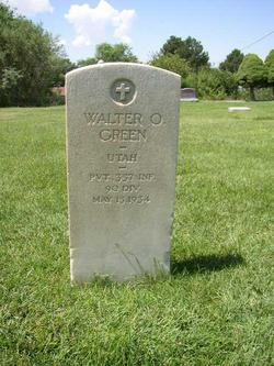 Pvt Walter Ostrander Green