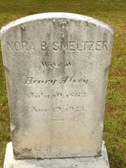Nora B. <I>Smeltzer</I> Alverg