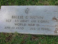 Rev Billie C. Nunn
