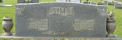Mollie <I>Robinson</I> Sims