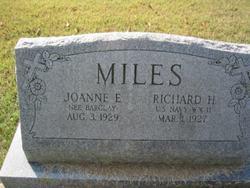 Joanne E. <I>Barclay</I> Miles