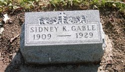 Sidney Keith Gable