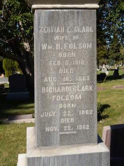 Zerviah Eliza <I>Clark</I> Folsom