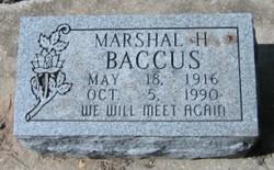 Marshall Hazelwood Baccus