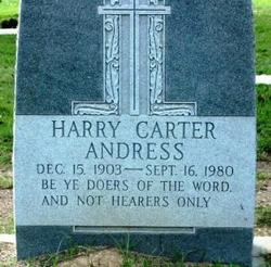Harry Carter Andress