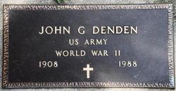 John G Denden