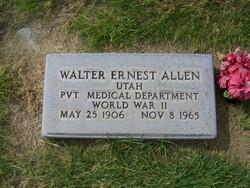 """PVT Walter Ernest """"Ted"""" Allen"""