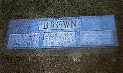 Louie Jane <I>Carter</I> Brown