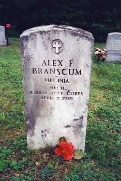 """Alexander Fountain """"Alex"""" Branscum"""