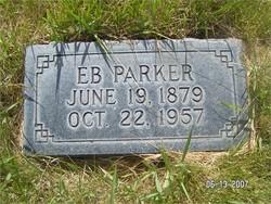 """Ebenezer Maxmillan """"EB"""" Parker"""