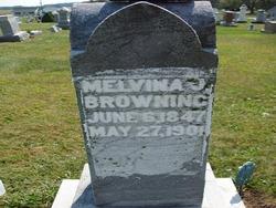Melvina <I>Bowers</I> Browning