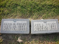 Hazel Minnie <I>Ward</I> Coley