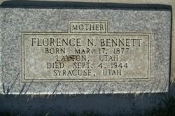Florence Rebecca <I>Sandall</I> Bennett