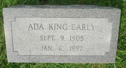 Ada Parker <I>King</I> Early