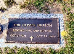 "Edith ""Edie"" <I>Heisser</I> Hutson"