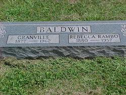 Rebecca <I>Rambo</I> Baldwin