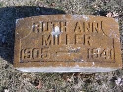 Ruth Ann <I>Goad</I> Miller
