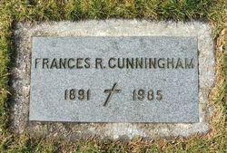 Frances R. <I>Burke</I> Cunningham