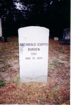 """Archibald """"Cuffy"""" Burden, Jr"""