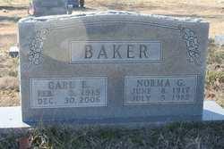 Norma Geneva <I>Eubanks</I> Baker