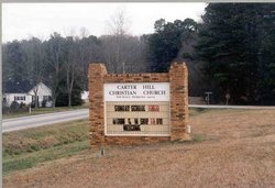 Carter Hill Christian Church Cemetery