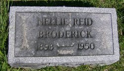 Nellie <I>Reid</I> Broderick