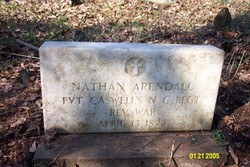 Pvt Nathan Arendall