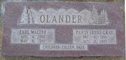 Pansy Irene <I>Gray</I> Olander