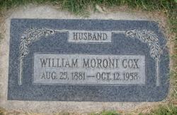 William Moroni Cox