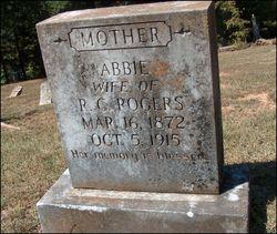 """Thea Abbygill """"Abbie"""" <I>Randolph</I> Rogers"""